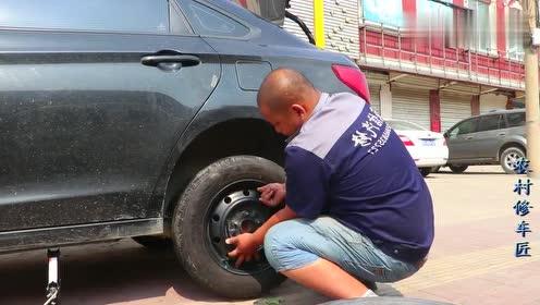 换轮胎你必须要知道的常识,修车厂都这样换,速度就是快!