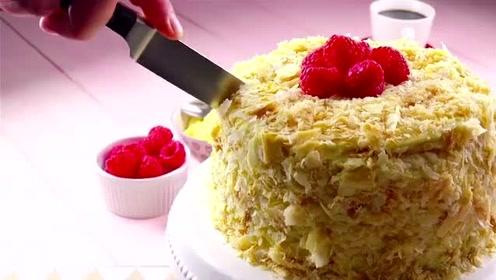 简单易学的蛋糕做法,学会这两点,保你做出来的蛋糕又嫩又滑!