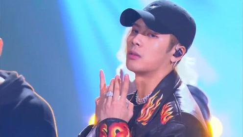 王嘉尔烟嗓rap燃炸舞台,接下来的这一幕竟让林俊杰大喊骗人!