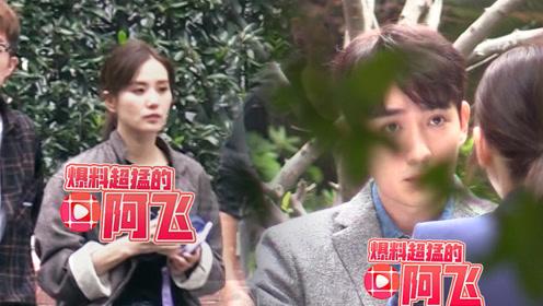 刘诗诗产后新剧拍摄首曝光,搭档朱一龙表情软萌又帅气