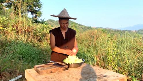 吃了半辈子大白菜,原来这样做才是最好吃,农村小伙子做梦都想吃