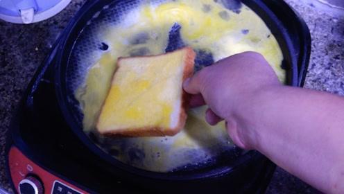 亲自给你演示,如何做一个简单快速的早餐,有营养不费事