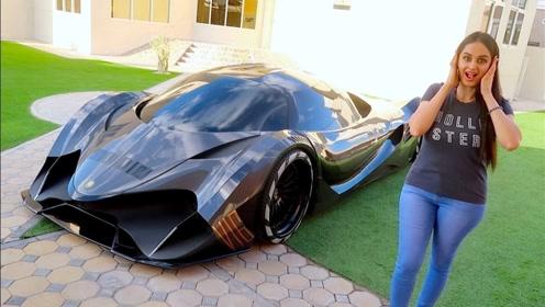 迪拜王子究竟有多壕?一辆跑车价值4亿多,只外借过成龙一人!