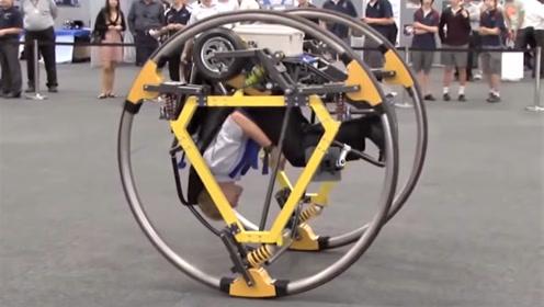 电动车还能这样设计?倒着开还能翻跟斗,你敢开吗!