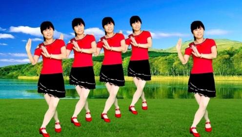 鸽子广场舞《错误的爱》节奏欢快动感又好看