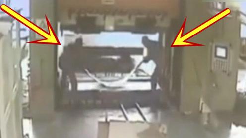 车间两工人操作失误,突然祸从天降,命丧当场!