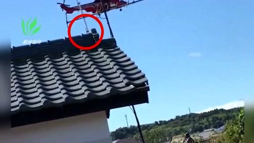 日本救灾直升机失误 77岁女子从40米高空坠落身亡