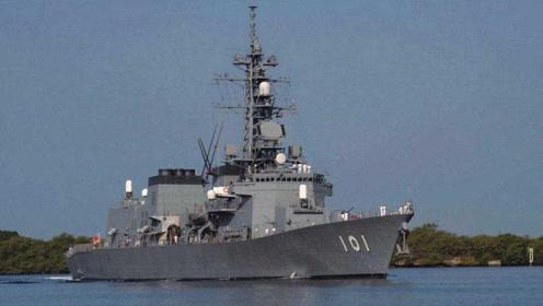 日本海上自卫队护卫舰零距离接触 每分钟120发的舰炮全程无人化