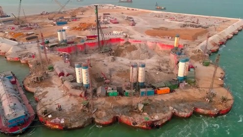 中国将266万吨水泥倒入海中,各国效仿:中国人怎么这么聪明呢