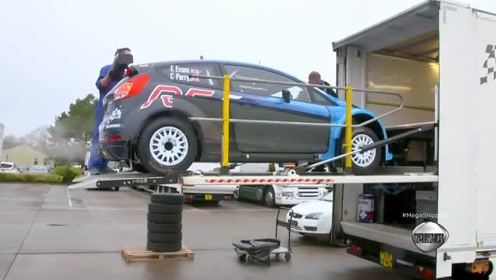 小推车闹脾气,运输赛车时间紧!还能赶上2250公里外的赛事吗?