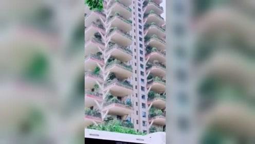 成都首个垂直森林住宅,就问你们想不想来啊