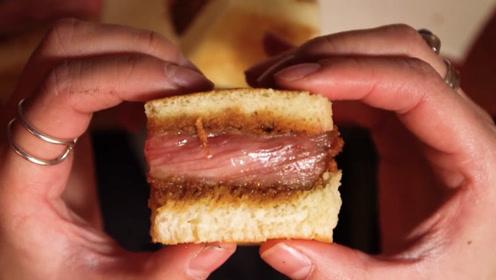 全球最贵三明治:一口就要180美元,切开瞬间,不亏!
