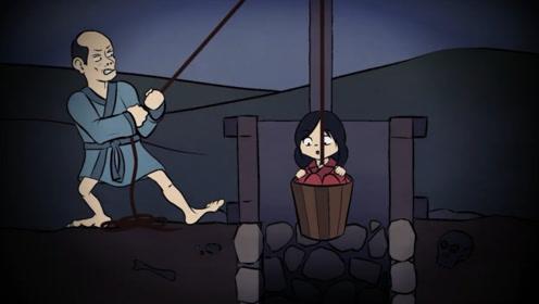 养女被迫下井捞金,她趁此机会害死养父,刚被救上来意外发生了!