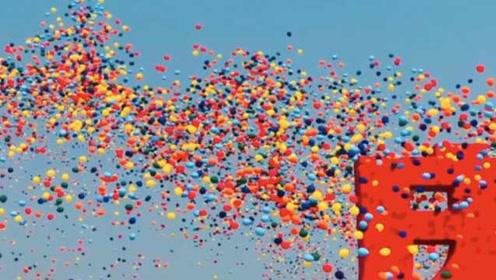 国庆70分钟内放飞7万气球,他们光练习就吹掉130万个气球