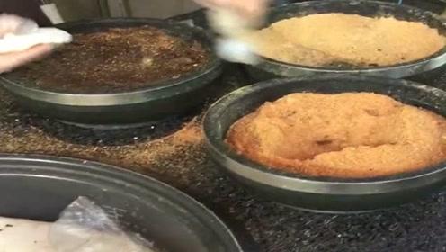 看完大娘做的糯米糍粑,我没有了胃口,这是从印度留学回来的吗?