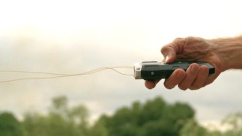 """黑科技抓捕神器""""捆仙绳"""",1秒制服嫌疑人,还不会造成伤害"""