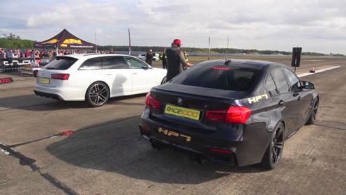 奥迪RS6单挑宝马M3,都卖100万,差距咋就这么大呢!