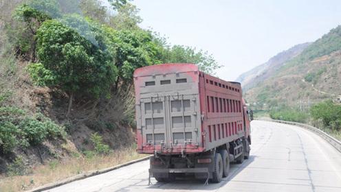 卡车因为塌桥再上热门,这百吨王难道是癌症没得治?