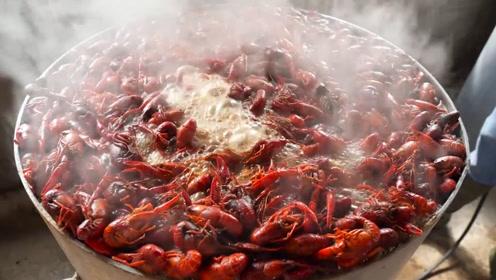 """""""野生小龙虾""""的头能吃吗?里面是屎还是脑黄,看完让人不敢相信!"""