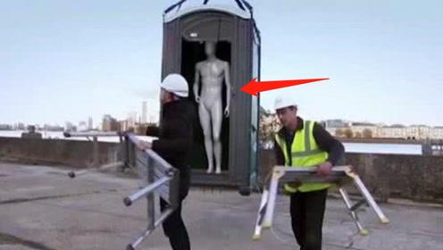 电梯失控下坠,临落地跳一下能保命吗? 看看测试的假模特就懂了