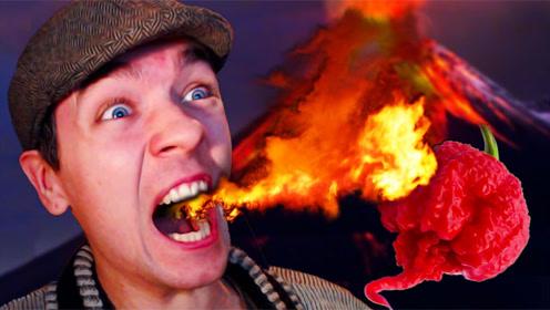世界上最辣的辣椒 吃一口直接休克 网友:闻一下就丢半条命