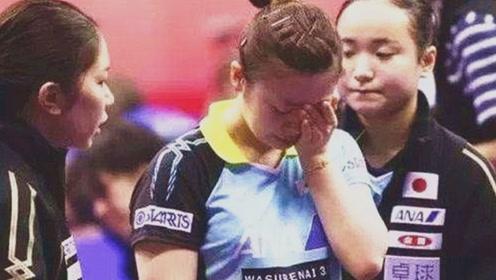 福原爱被张怡宁打哭后,日本报道画风瞬间变了,再也变不回来了!