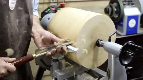 改造一块笨重的木头,最后的成品太意外了,真是个好东西啊