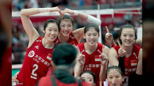 升国旗敬军礼,八一女排锁定军运会冠军,李盈莹或将成为最大赢家