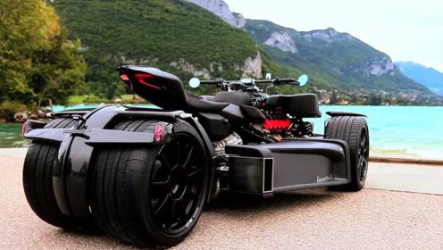 世界上最炫酷的三轮车,速度比跑车还快,上路的那一刻太帅了!