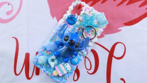 手机壳DIY,史迪仔糖果奶油手机壳,满足你制作甜点的欲望