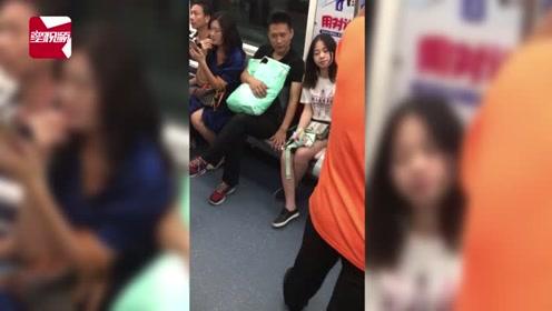 深圳一男子坐地铁伸咸猪手左右开弓,2女子全程沉默竟没有求救