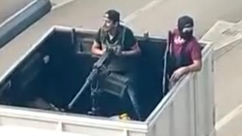 """墨西哥大毒枭""""矮子""""之子被捕引发暴力潮 安全部队决定将其释放"""
