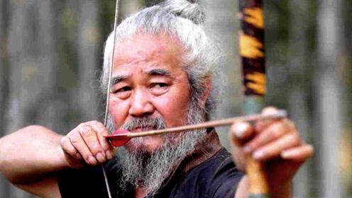飞将军李广百步穿杨是真的?聚元号弓箭传承人杨福喜:诀窍在食指