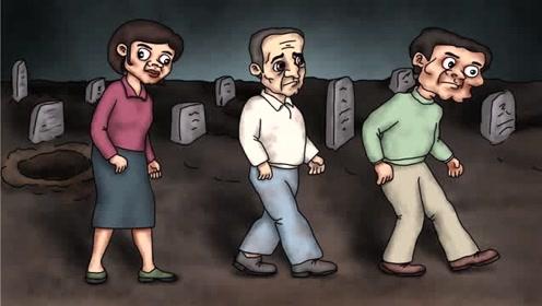 咖子脑力测试:谁是坟墓里逃出来的丧尸?