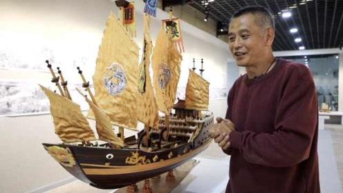 船模王卖掉千万身家,重现郑和下西洋舰队,称曾收过马云订单