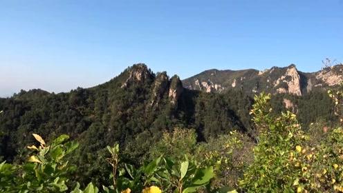 承德白草洼国家森林公园的小黄山