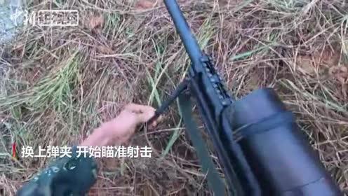 第一视角看武警官兵野外训练