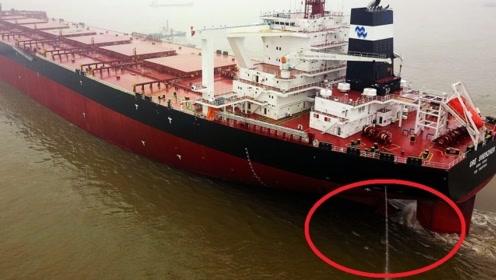 为何船锚这么小,却能将上万吨的船固定在海面?看完长见识了
