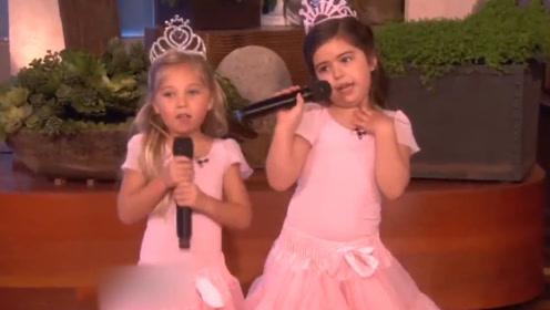 """小女孩被邀节目现场,台上""""说唱""""一亮相,台下瞬间沸腾全场起立"""