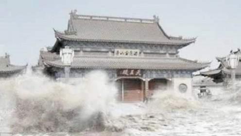 陕西一庙能让洪水绕道,引无数人蜂拥而至,真相却被一个小孩揭穿