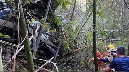 浙江金华一直升机坠落 机上2飞行员均死亡:系执行航空物探项目