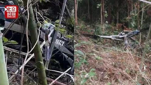 金华一直升机坠落 两飞行员遇难 事发时正执行航空物探项目