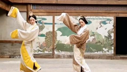 双胞胎姐妹演绎汉服文化配上最火的《芒种》,画面毫无违和感!