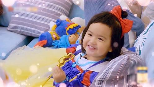 包文婧一家子都是演戏的料啊,连饺子都能完美的演绎这个角色!