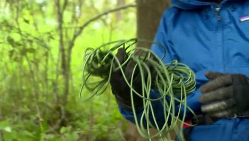 荒野生活不孤单,生存专家朱炜强自制弓箭教你玩起来!