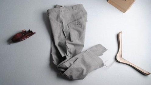 旧裤子丢掉太可惜,简单改一改,成品很多家庭都能用得上