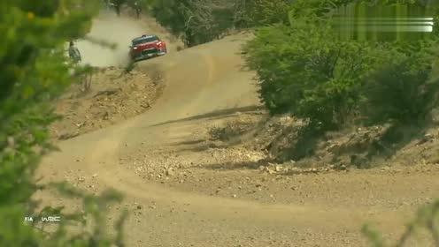 WRC墨西哥站这段赛道有多难跑?稍有不慎就有可能出大事!