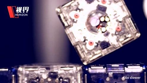 麻省理工推出M-Blocks 2.0机器人 可自动变形合体