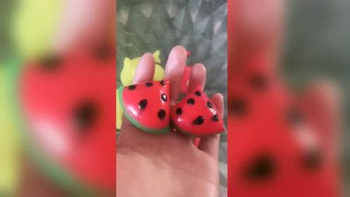 小朋友爱吃的西瓜来了,这个可以玩