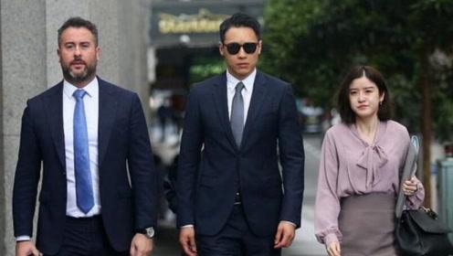 高云翔案庭审进入第7日 律师陪同穿西装低调现身